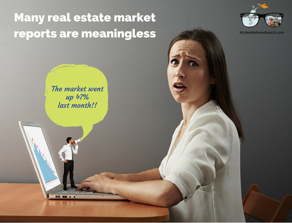Many real estate market reports are meaningless