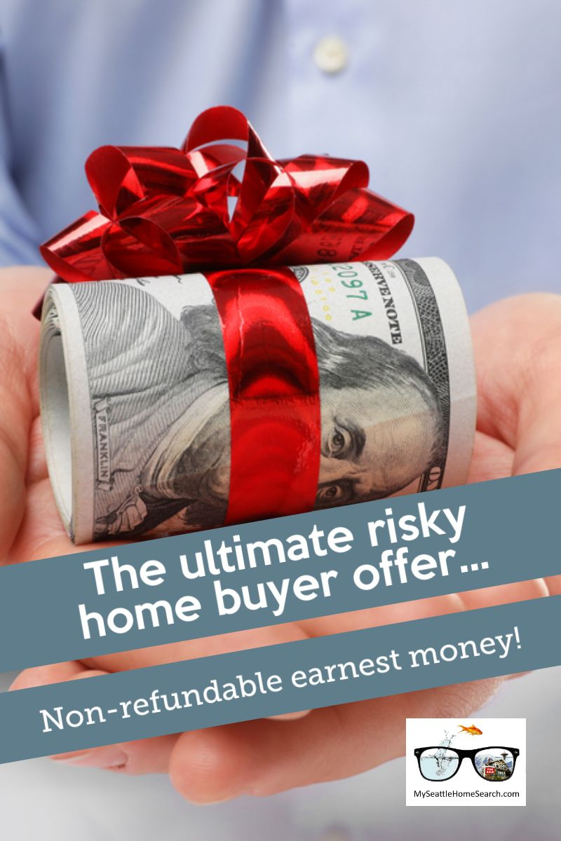Non refundable home buyer earnest money