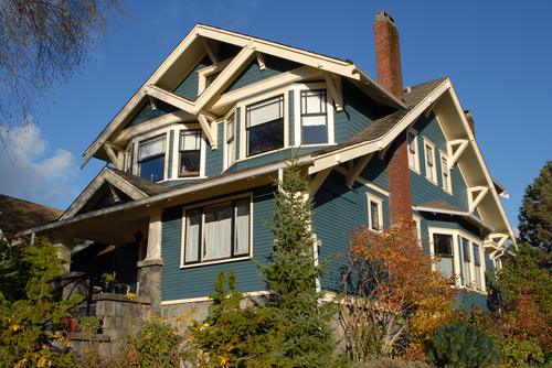 Seattle craftsman home