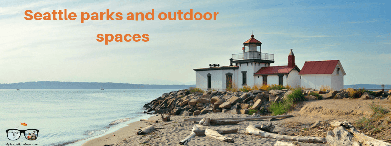 Seattle parks and outdoor spaces