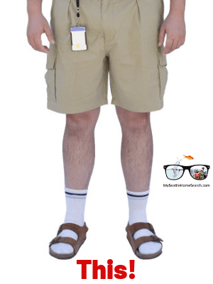 Seattle socks and sandals fashion