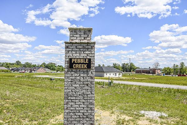 Pebble Creek Subdivision