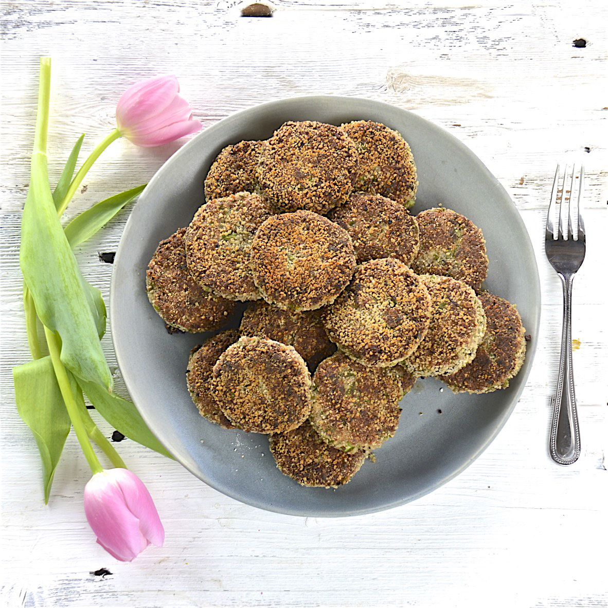 Dinas Protein Spiked Vegetarian Patties