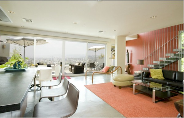 1839 Maltman Silver Lake Modern have great open rooms with views for days