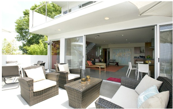 1839 Maltman Silver Lake Modern with terrific indoor outdoor flow