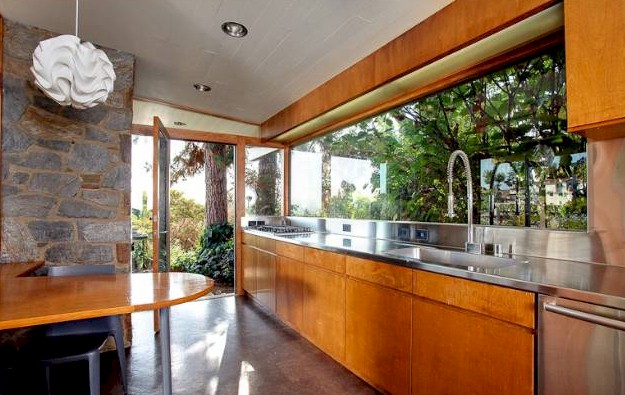 Los Feliz updated mid century kitchen