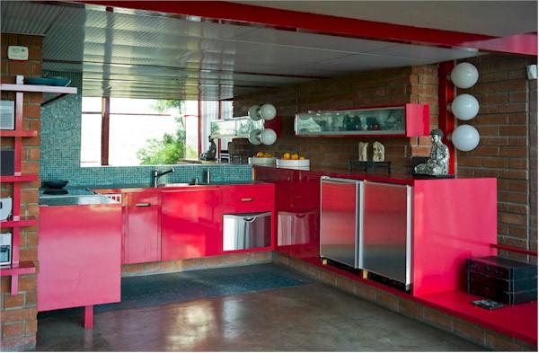 Allyn Morris Studio Loft in Silver Lake Kitchen