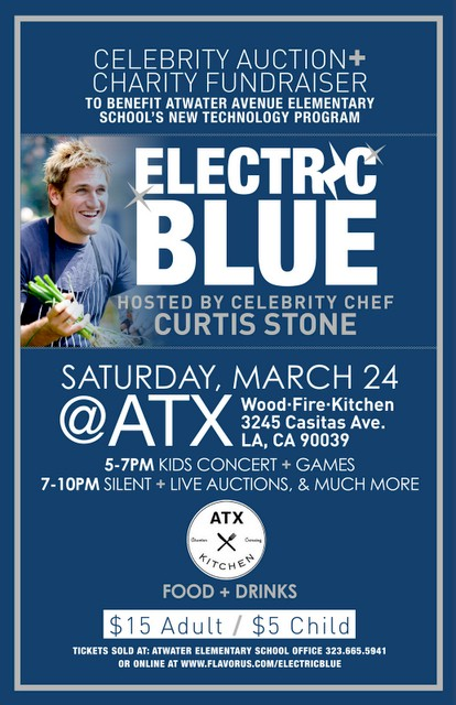 Atwater Avenue Elementary School Fundraiser Electric Blue takes place Saturday March 24