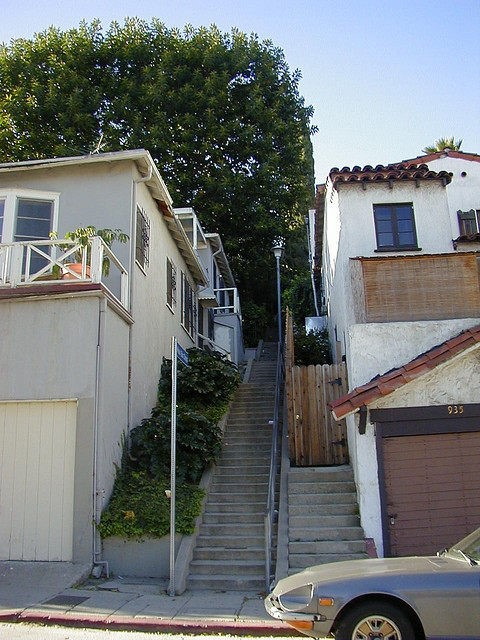Music Box Stairway in Silver Lake