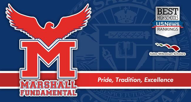 Marshall Fundamental School Logo