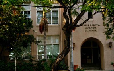 Cheremoya Elementary School, in Beachwood Canyon
