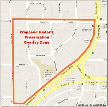 El Sereno proposed Historic Preservation Overlay Zone