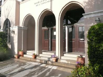 Front of Franklin Avenue Elementary School in Los Feliz