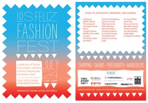 Los Feliz Fashion Fest