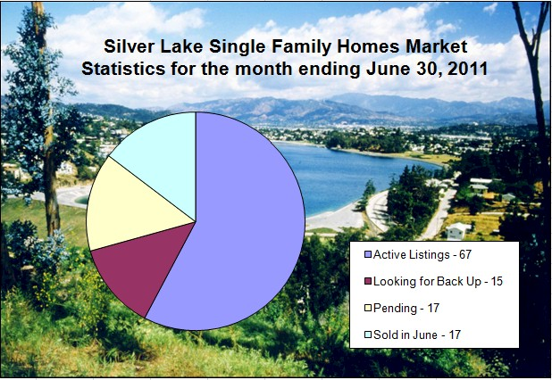 Silver Lake Market Statistics Report for the month ending June 30, 2011