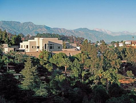 Frank Lloyd Wright's Ennis House - Los Feliz