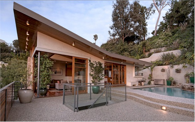fabulous Los Feliz Architectural wiith pool and view