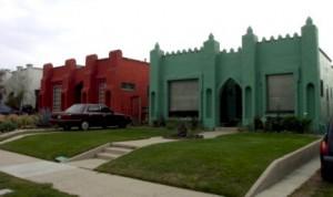 Atwater Village Fantasy bungalows along Brunswick Avenue