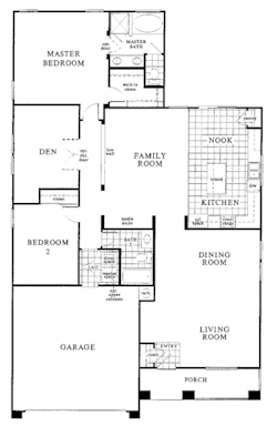 Floor plans provide accurate room measurements for buyers