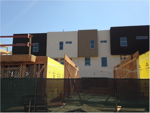 SL70 pre-completion small lot homes at the Silver Lake boarder