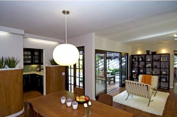 Los Feliz mid century modern dining room