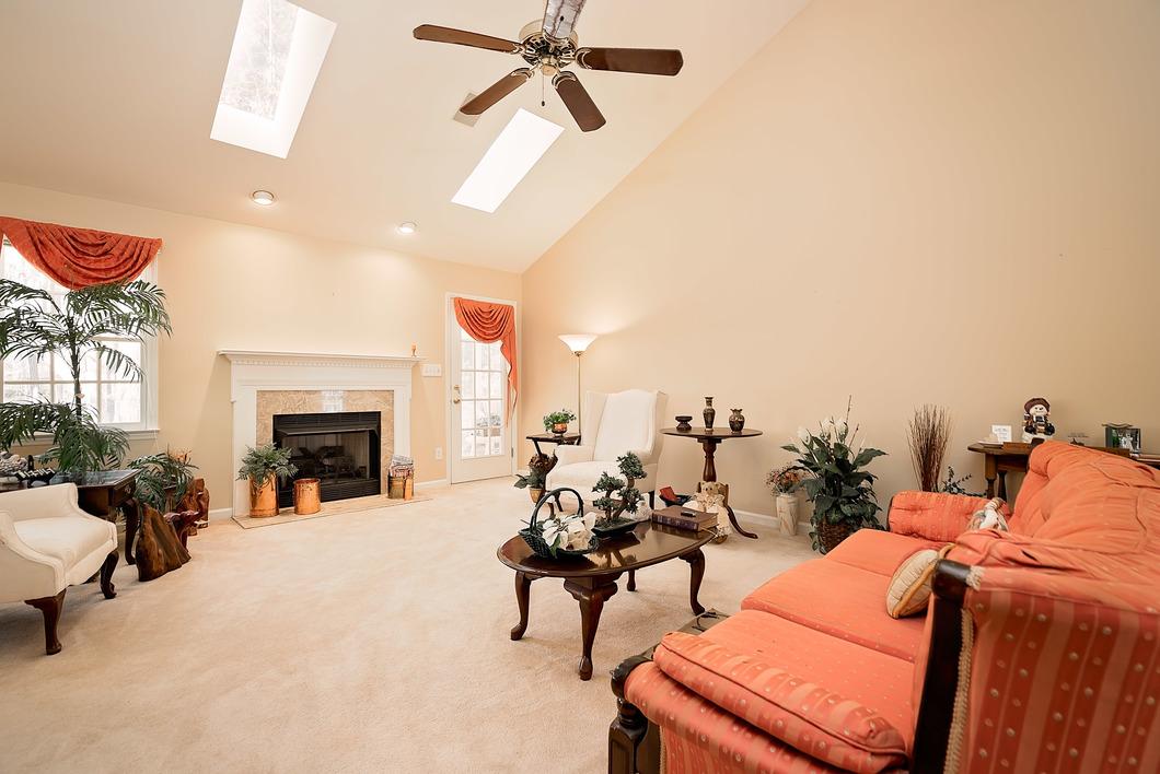 5908 Mountain Island Dr Durham NC 27713- living room