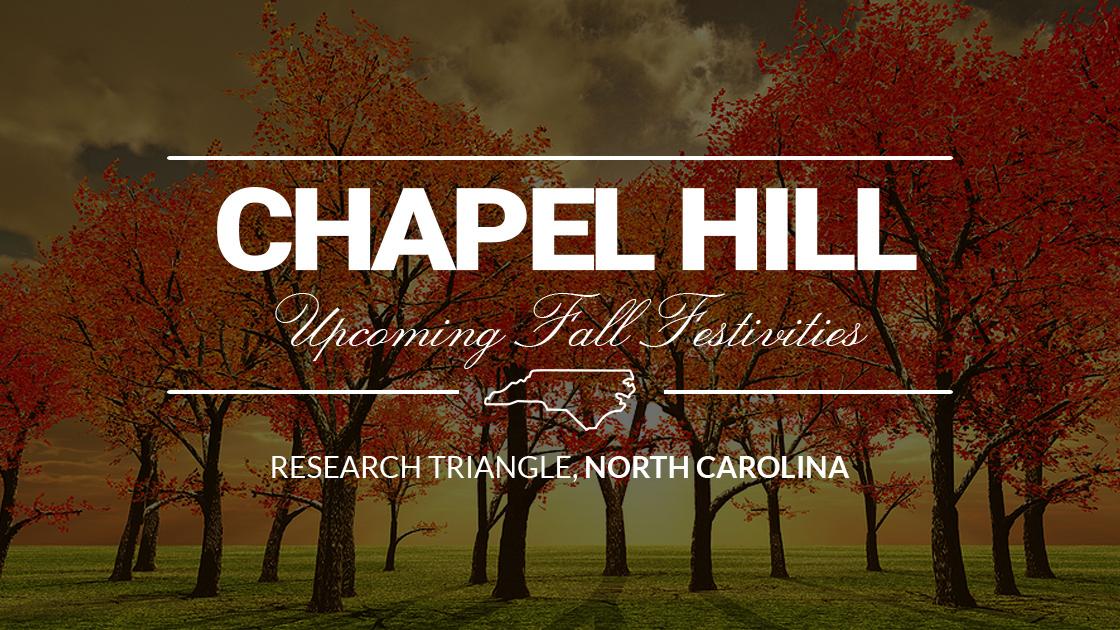Chapel Hill Fall Events