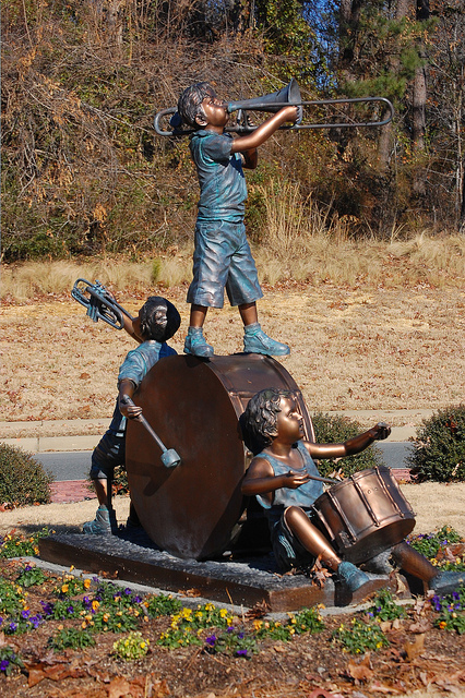 Holly Springs NC Statue