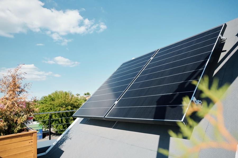 Triangle Area Solar Panel Homes