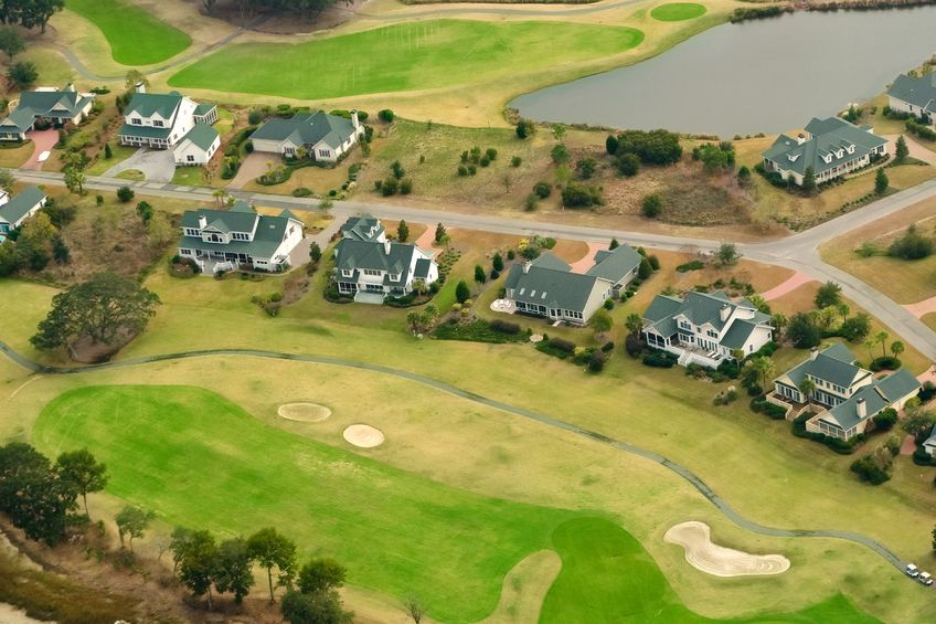 Raleigh Golf Course Communities