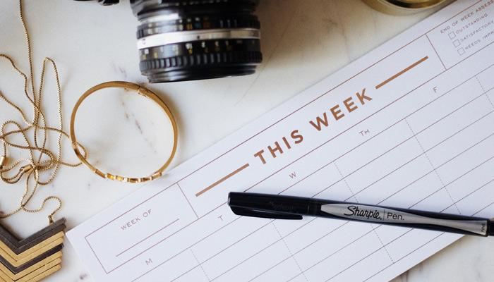 moving checklist calendar