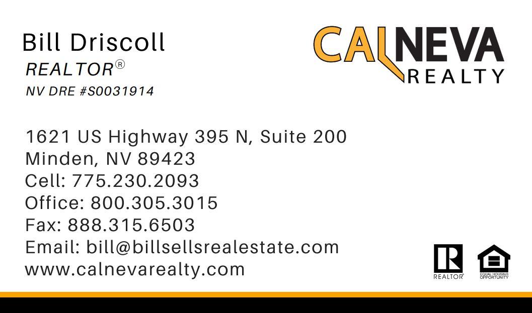 Bill Driscoll Card