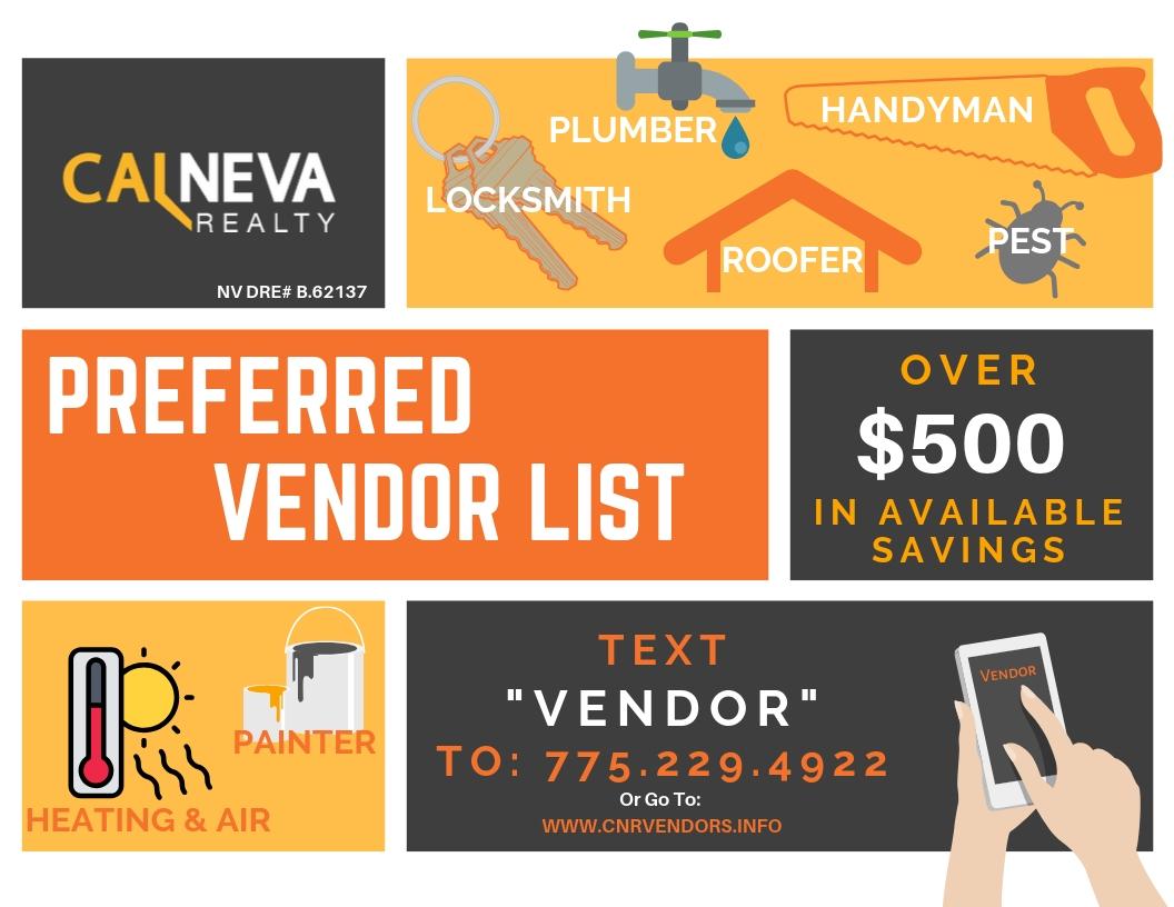 CNR Vendors