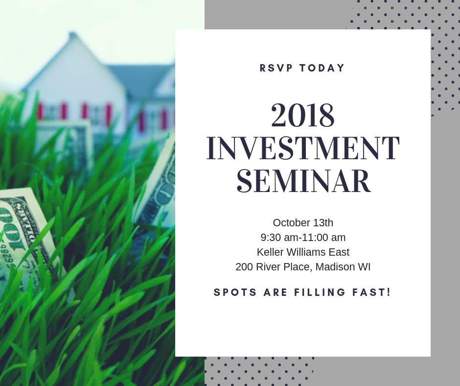 real estate investment seminar 2018