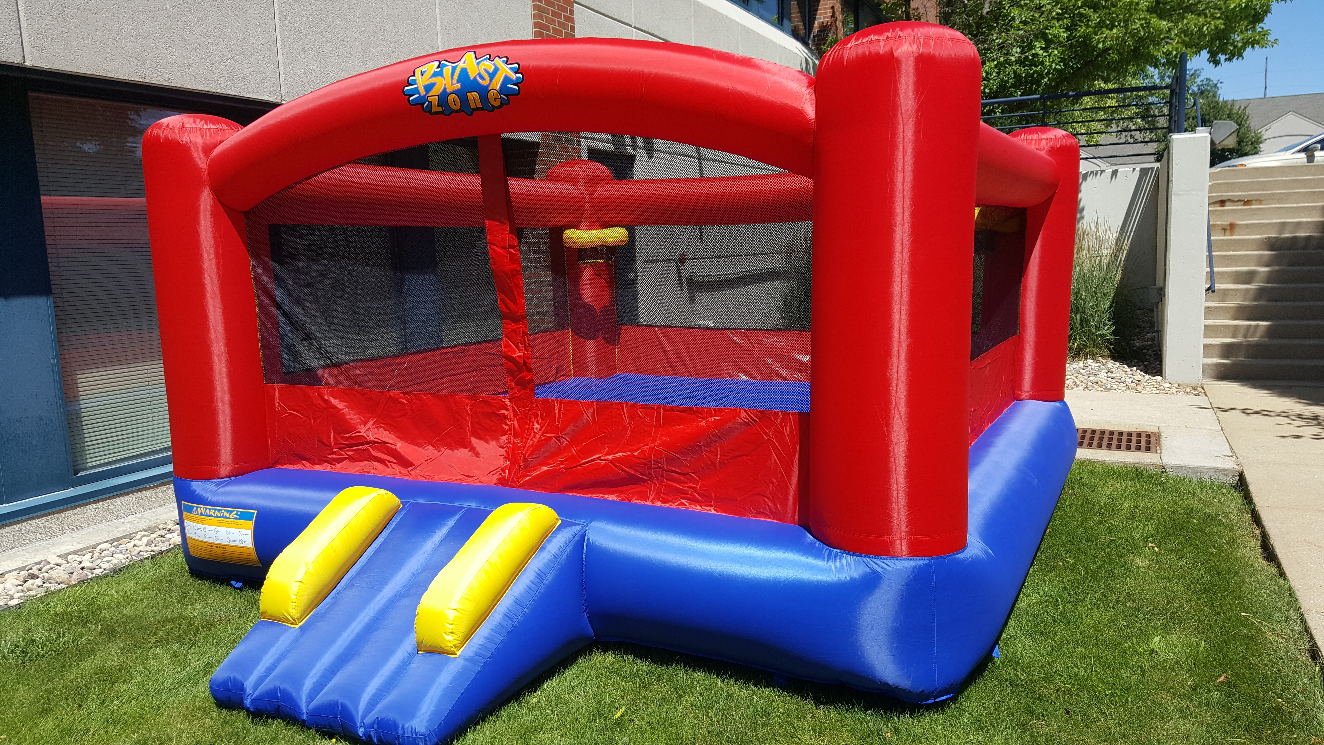 bounce house from Josh Lavik & Associates