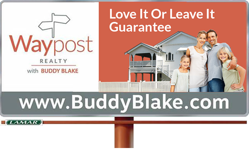 Waypost Billboard Love It Or Leave It