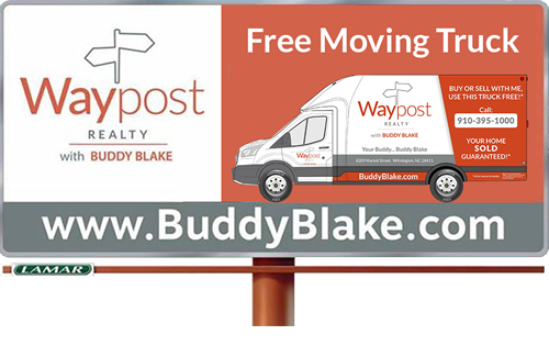 Waypost Billboard Free Moving Truck