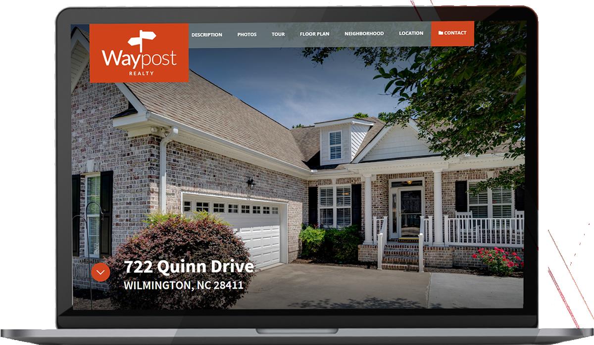 Waypost Custom Property Website