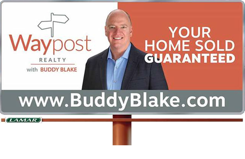Waypost Billboard Guaranteed Sale