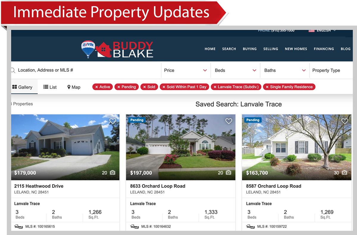 Immediate Property Updates