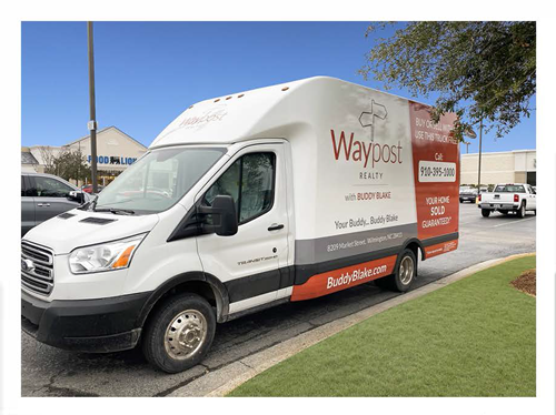 Waypost Moving Truck Front