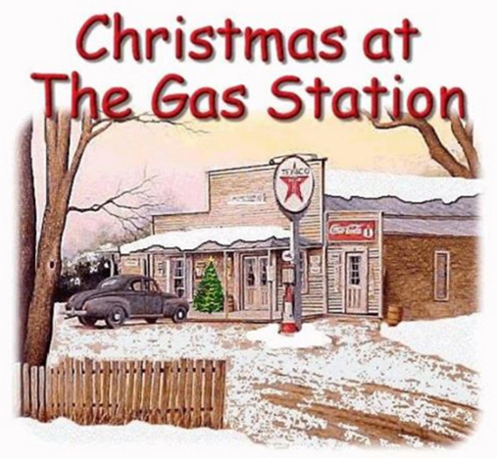 Christmas At The Gas Station