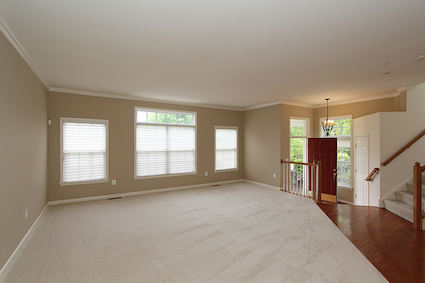 Check out this great living room in this 20895 townhouse at 10507 Mills Crossing Way