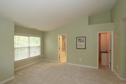 The Master Bedroom at 10507 Mills Crossing Way in Kensington MD
