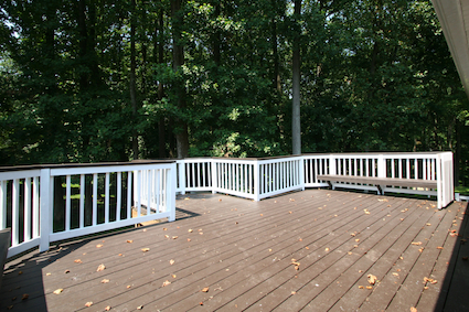 The Deck View at 4 Shannon Court Silver Spring MD 20904