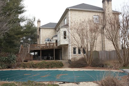 Pool View: 9712 Kendale Road, Potomac, Maryland
