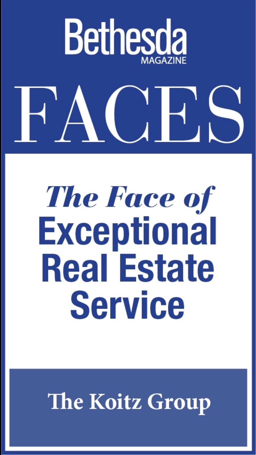 Bethesda Magazine Koitz Group: Faces of Exceptional Real Estate Service