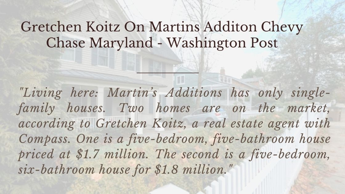 Quote About Martin's Addition Real Estate