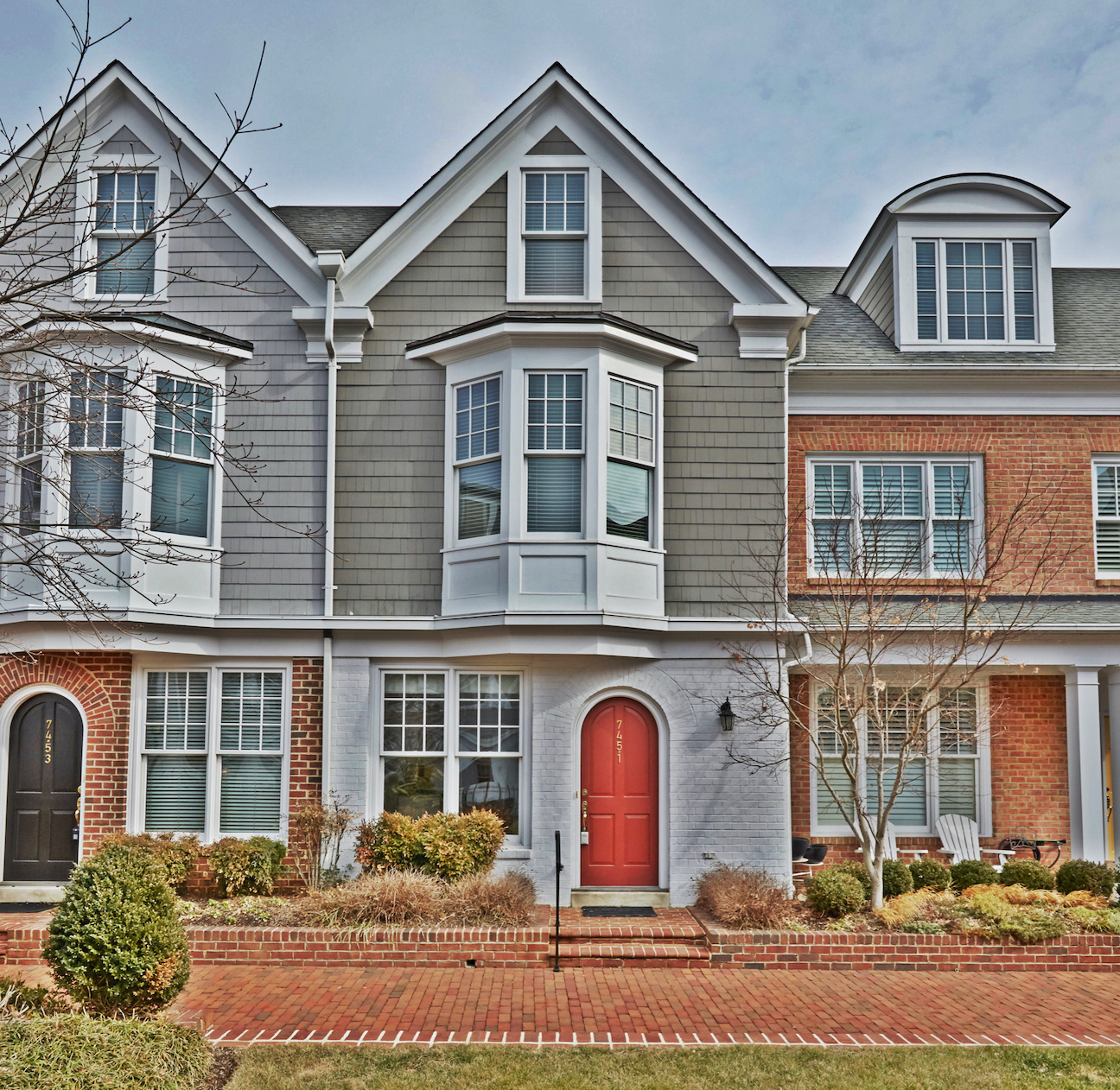 7451 Arlington Road - Villages of Bethesda Townhome Exterior