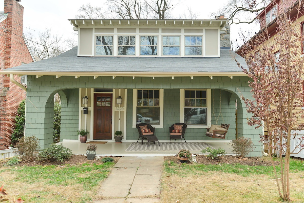Chevy Chase DC Bungalow Style Home